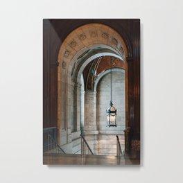 New York Public Library 02 Metal Print