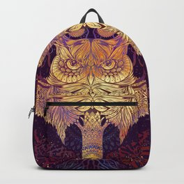 Owl Mandala Backpack
