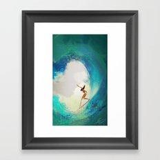 Refresher Framed Art Print