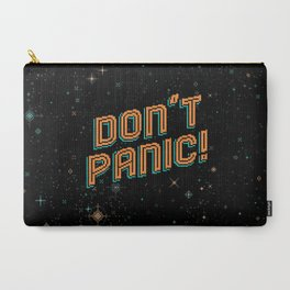 Don't Panic! Pixel Art Carry-All Pouch