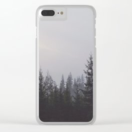 LOST IN THE NATURE Clear iPhone Case