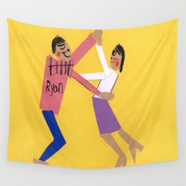 Let's Do The JitterBug! Wall Tapestry