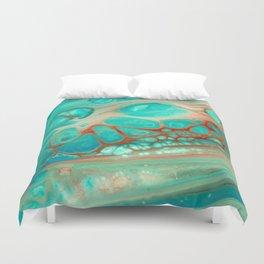 Aqua Duvet Cover