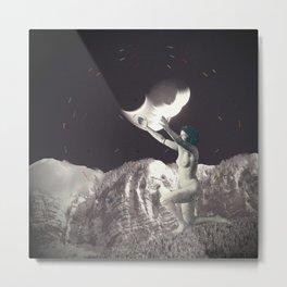 ...Crazy Moon... Metal Print