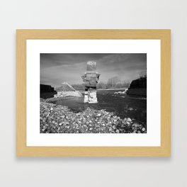 Look What They've Done Framed Art Print