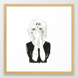 •Suzuya Juuzou• Framed Art Print