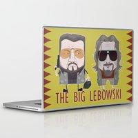 big lebowski Laptop & iPad Skins featuring The Big Lebowski by Francesco Dibattista