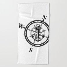 Nautica BW Beach Towel