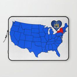 State of New York Laptop Sleeve