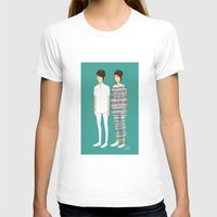 tegan and sara T-shirts featuring Tegan and Sara: Call It Off by Cas.