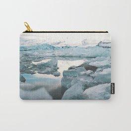 Iceland Glacier Lagoon | Jökulsárlón Carry-All Pouch