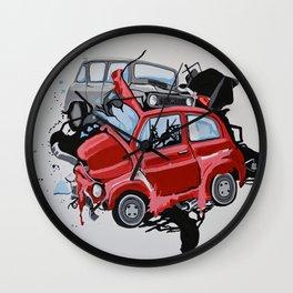 Carsharing Wall Clock