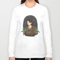 agent carter Long Sleeve T-shirts featuring Agent Carter by strangehats