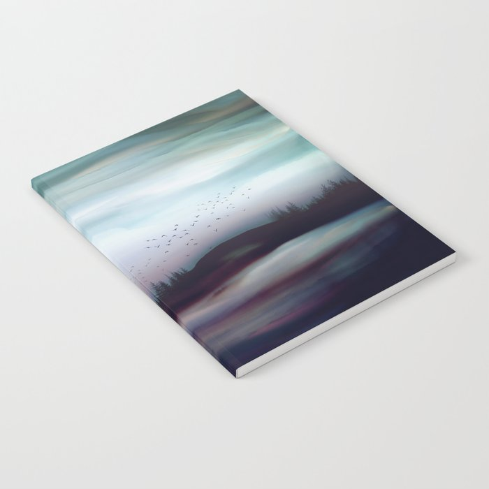 Winter Dawn Notebook
