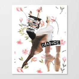 Dance New York Canvas Print