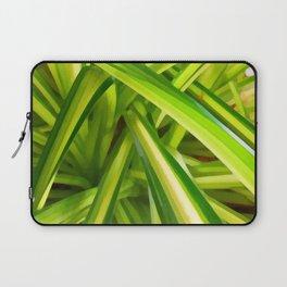 Spider Plant Leaves Laptop Sleeve