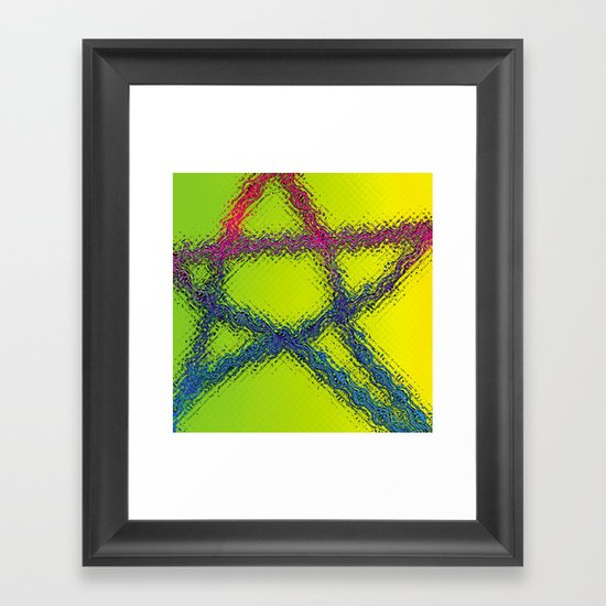 amerika Framed Art Print