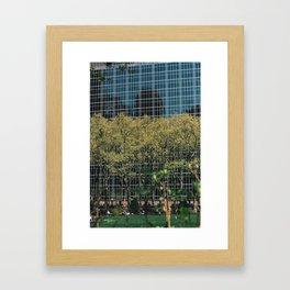 Bryant Park - Modern Building Framed Art Print