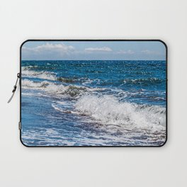 Bohol Sea Waves Laptop Sleeve