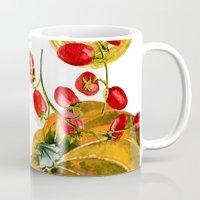 vegetable Mugs featuring Vegetable mix by Liliya Kovalenko
