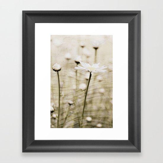 Daisy Fields 4eva Framed Art Print