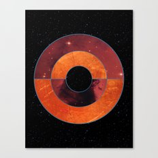 Abstract #204 The Black Hole Canvas Print