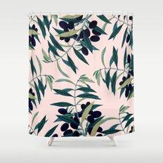 Olive Branch Pattern #society6 #decor #buyart Shower Curtain