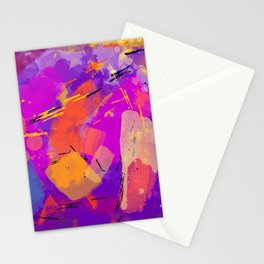 Funky Party Stationery Cards