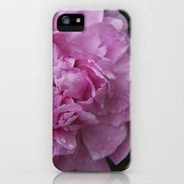 Pink Peony II iPhone Case