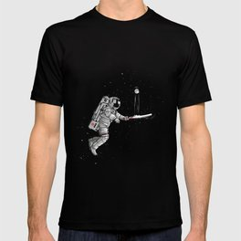 Space cricket T-shirt