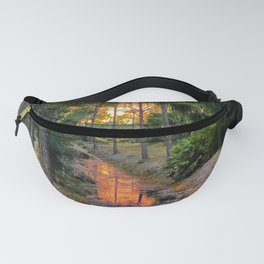 Sunset on the Swamp Fanny Pack