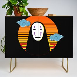 No Face a Lonely Spirit Credenza