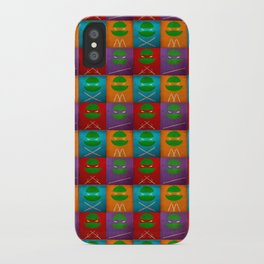 TMNT Collection iPhone Case