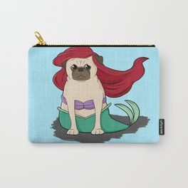 The Little Mer-Pug Carry-All Pouch