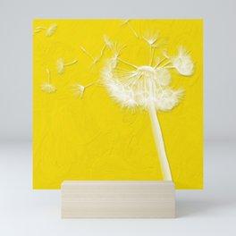 Freesia Yellow Dandelion Mini Art Print