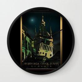 #SighisoaraClockTower III Wall Clock