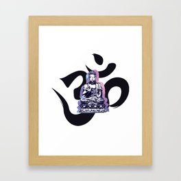 Ohm Wave Framed Art Print