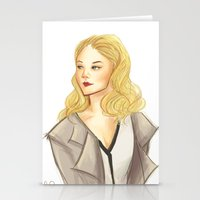 moriarty Stationery Cards featuring elementary: moriarty by roanne Q