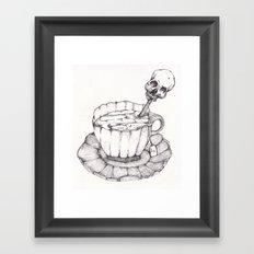 AS TEA Framed Art Print
