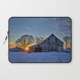 Barn Sunset Laptop Sleeve