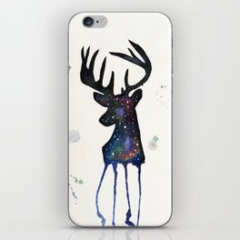 Spirit Nebula Stag iPhone Skin