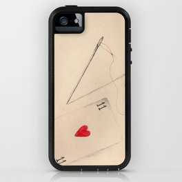 Red Thread iPhone Case