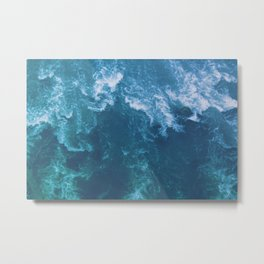 Wind and Water Metal Print