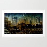 UrbanScapes Art Print