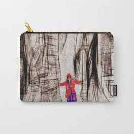 the tree and her girlfriend Carry-All Pouch