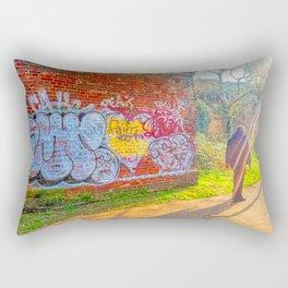 Street Photography, Norwich. U.K Rectangular Pillow