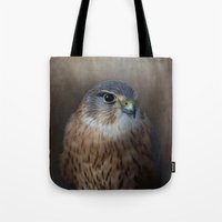 merlin Tote Bags featuring The Merlin by Pauline Fowler ( Polly470 )