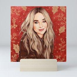 Sabrina Winter Mini Art Print