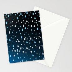 Rain Rain Rain Stationery Cards