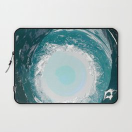 High tide came and swept you away Laptop Sleeve